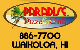 Paradise Logo 886-7700 - Waikoloa, HI